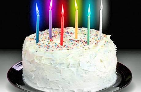 נרות לעוגה עם להבה צבעונית !