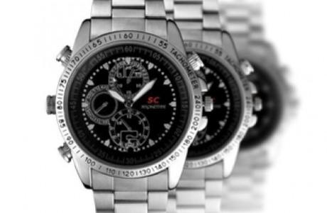 שעון יד עסקי משולב במצלמת וידאו נסתרת