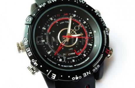 שעון יד ספורטיבי מוסלק במצלמת ריגול