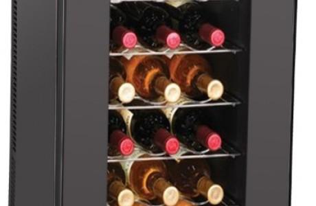 מקרר יין לאחסון 18 בקבוקים