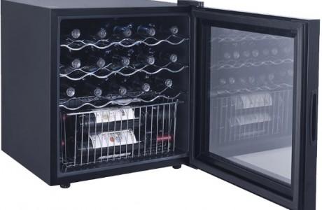 מקרר יין ל-19 בקבוקים עם מדחס