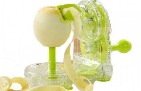 מכשיר קילוף מהיר לתפוחי עץ