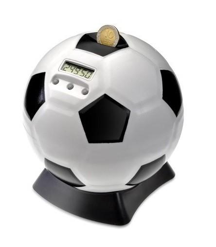 קופת חיסכון דיגיטלית שסופרת כסף בעצוב כדורגל