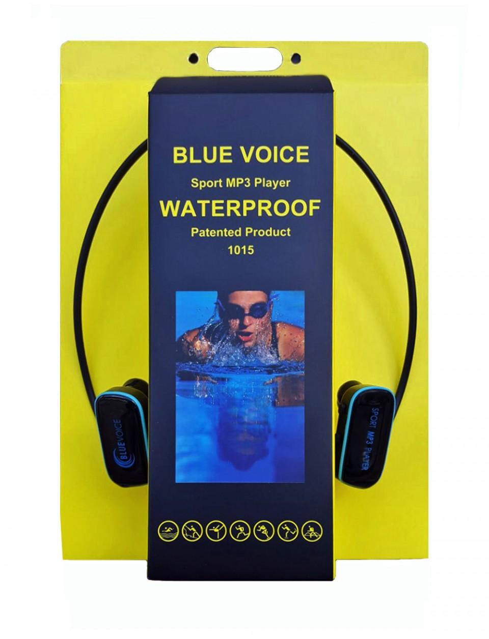 BLUE VOISE נגן MP3 לשחייה וספורט